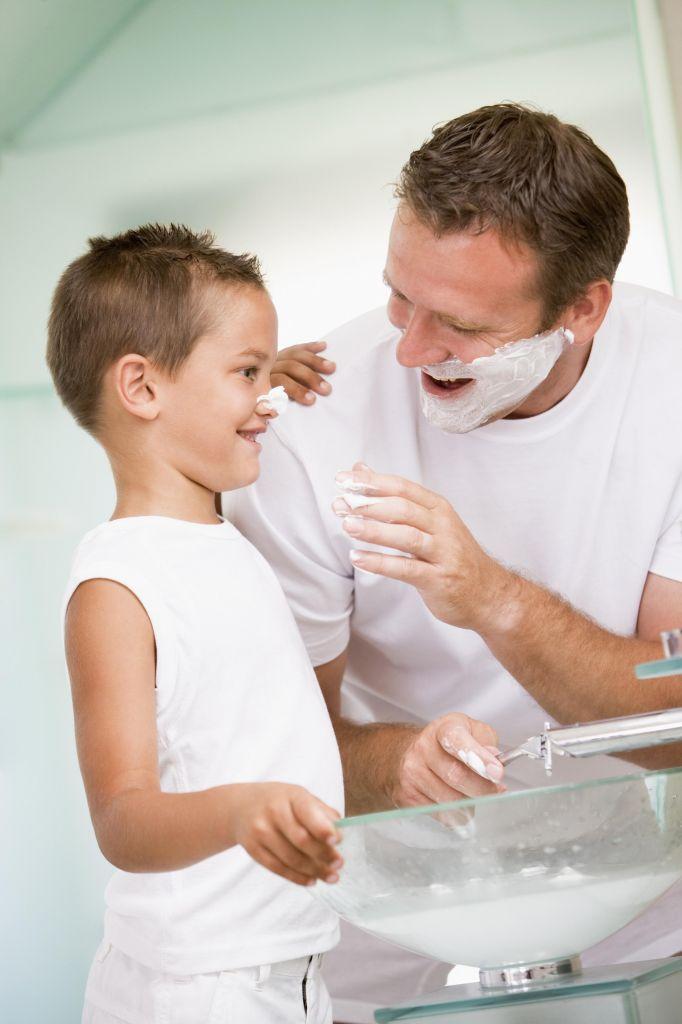 affidamento dei figli al papà